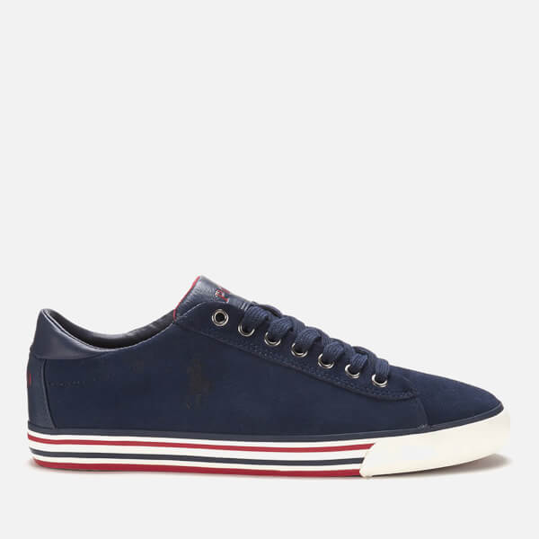 Polo Ralph Lauren Men's Harvey Suede Trainers - Newport Navy