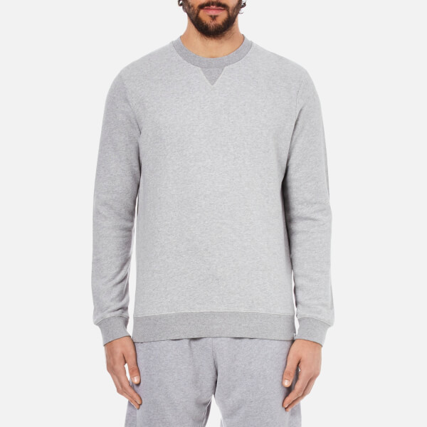 Derek Rose Men's Devon 1 Sweatshirt - Silver