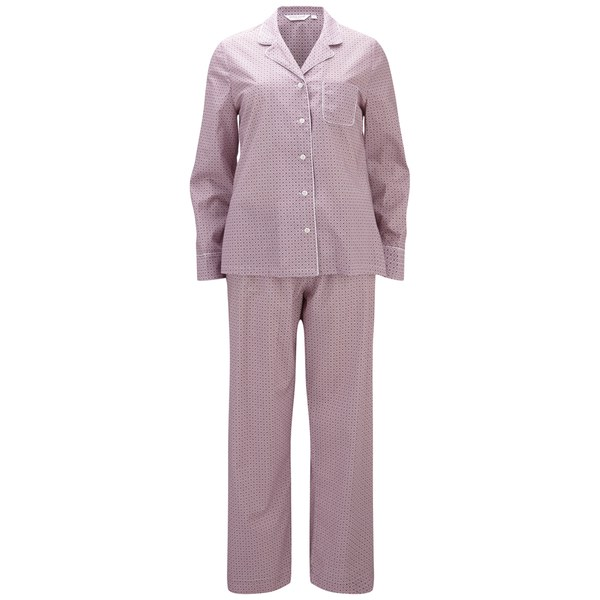 Derek Rose Women's Dixie 2 Pyjama Set - Pink