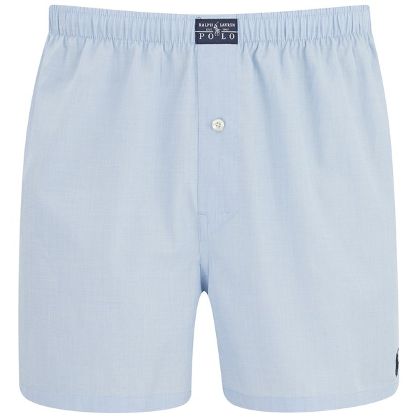 Polo Ralph Lauren Men's Woven Boxers - Blue