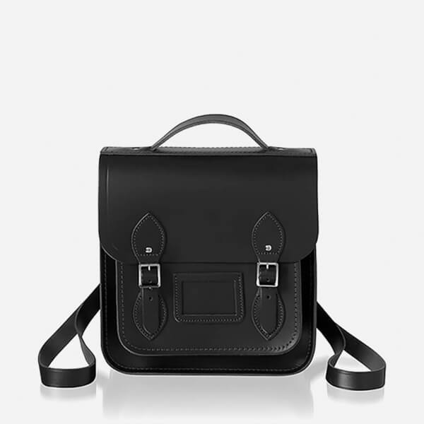 The Cambridge Satchel Company Women's Small Portrait Backpack - Black