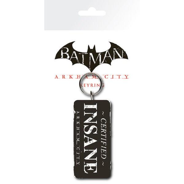 Porte-Clefs Batman Arkham City Certified Insane - DC Comics