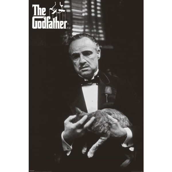 The Godfather Cat - 24 x 36 Inches Maxi Poster