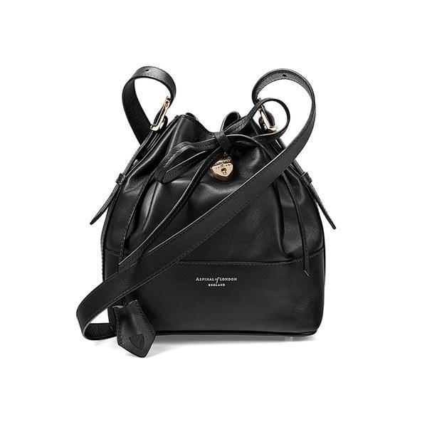 Aspinal of London Women's Padlock Duffle Bag - Black
