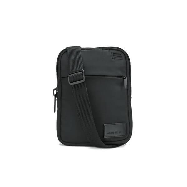 Lacoste Men S Cross Body Bag Black Small Image 1