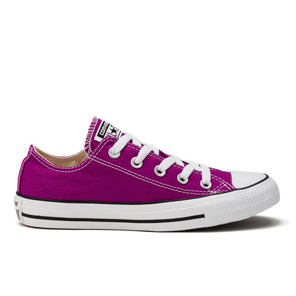 Converse Women's Chuck Taylor All Star OX Trainers - Pink Sapphire