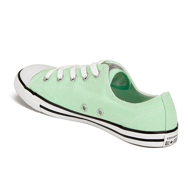 3be23b64d329 Converse Women s Chuck Taylor All Star Dainty OX Trainers - Mint Julep   Image 5