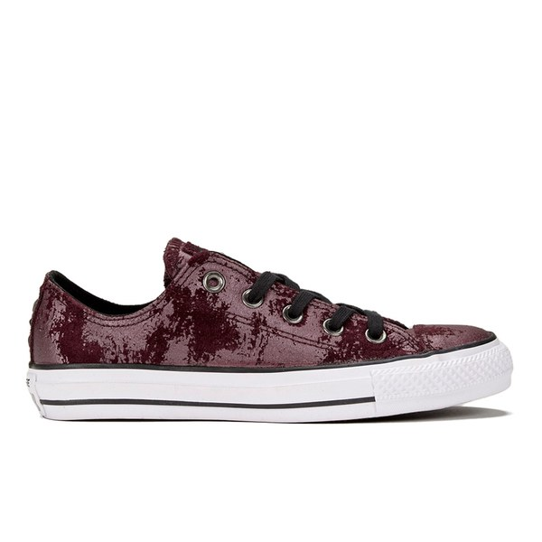 Converse Chuck Taylor All Stars OX Shoes Black Wash Deep Bordeaux Black White VQuHxz8id