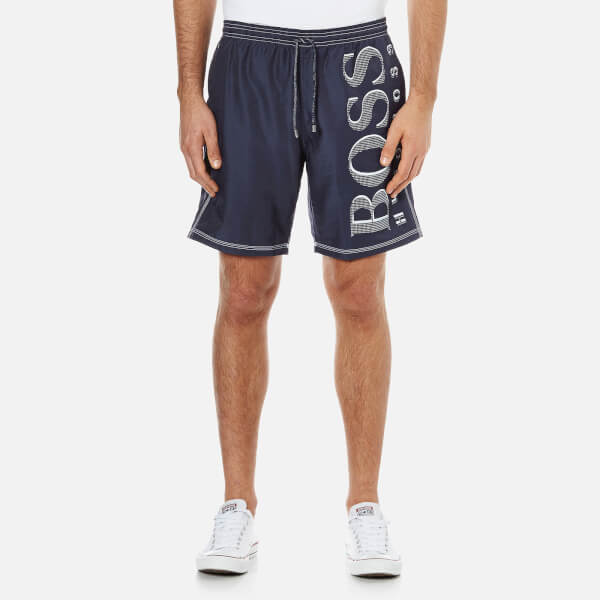 BOSS Hugo Boss Men's Killifish Swim Shorts - Navy