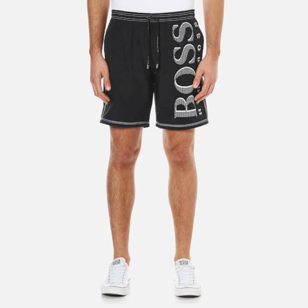 BOSS Hugo Boss Men's Killifish Swim Shorts - Black