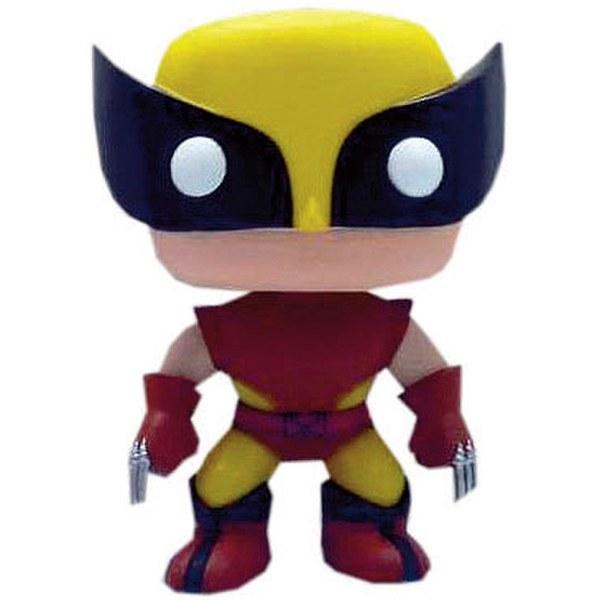 Marvel Brown Costume Wolverine Limited Edition Pop! Vinyl Figure