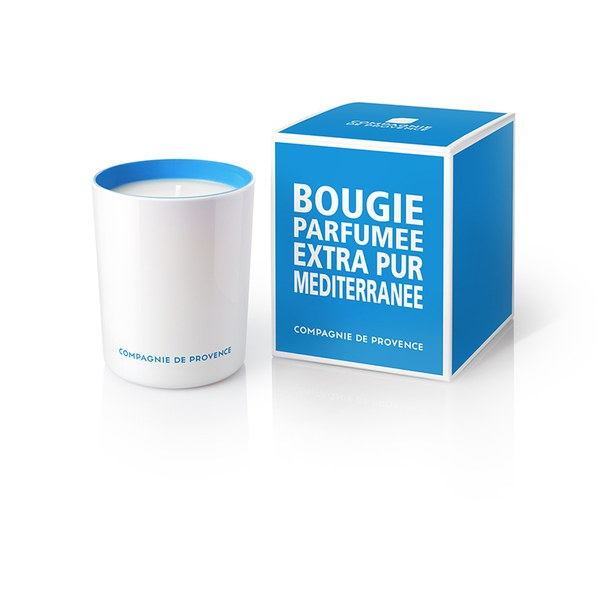 Compagnie de Provence Extra Pur Candle - Mediterranean Sea (180g)