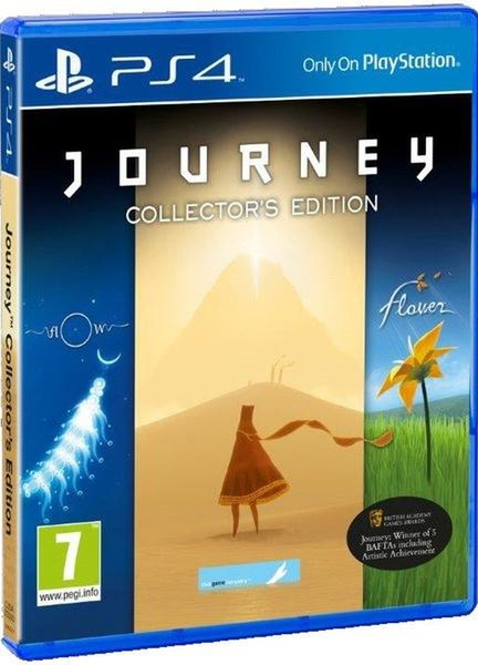 Kết quả hình ảnh cho Journey Collector's Edition cover ps4