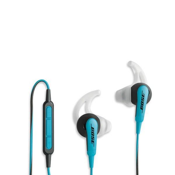 bose headphones blue. bose soundsport in-ear headphones - blue 7