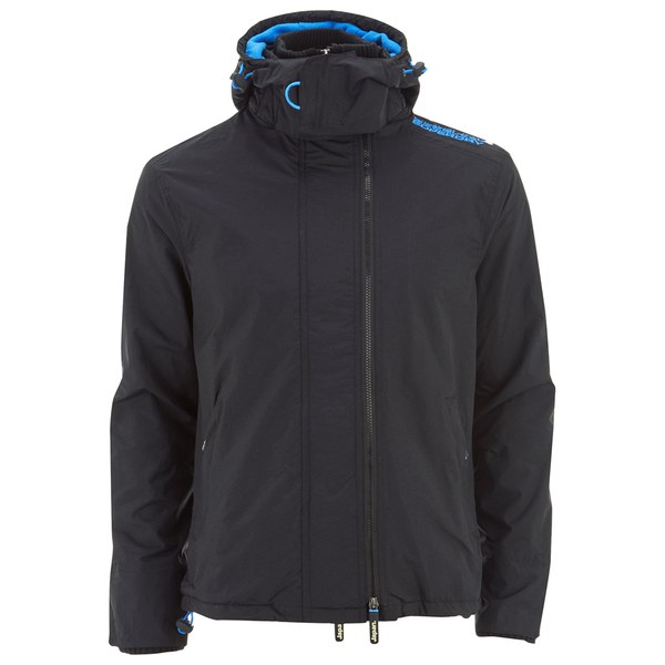 Superdry Men S Pop Zip Hooded Arctic Windcheater Jacket