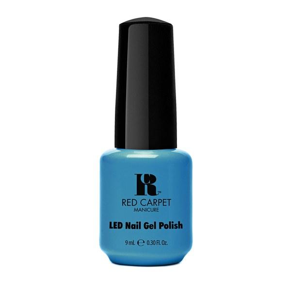 Red Carpet Manicure Sandal Scandal - Bright Aqua Blue Cream (9ml)