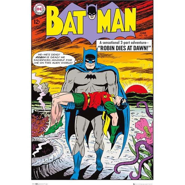 DC Comics Batman Comic Robin Dies at Dawn - 24 x 36 Inches Maxi Poster