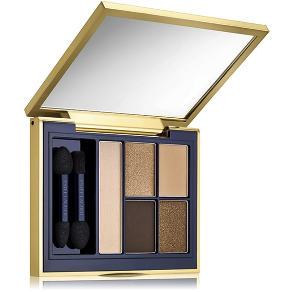 Estée Lauder Pure Color Envy Sculpting Eyeshadow 5-Color Palette 7g im Farbton Defiant Nude