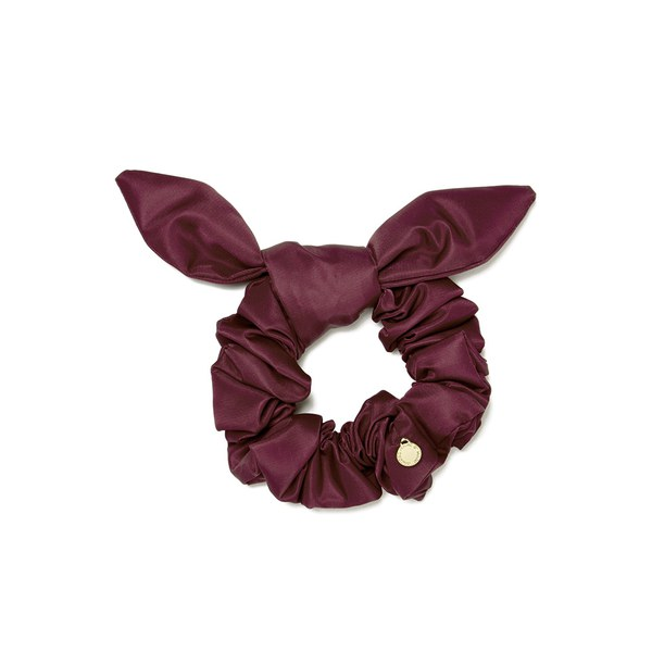 Marc by Marc Jacobs Women's Scrunchies Bunny Scrunchie - Garnet