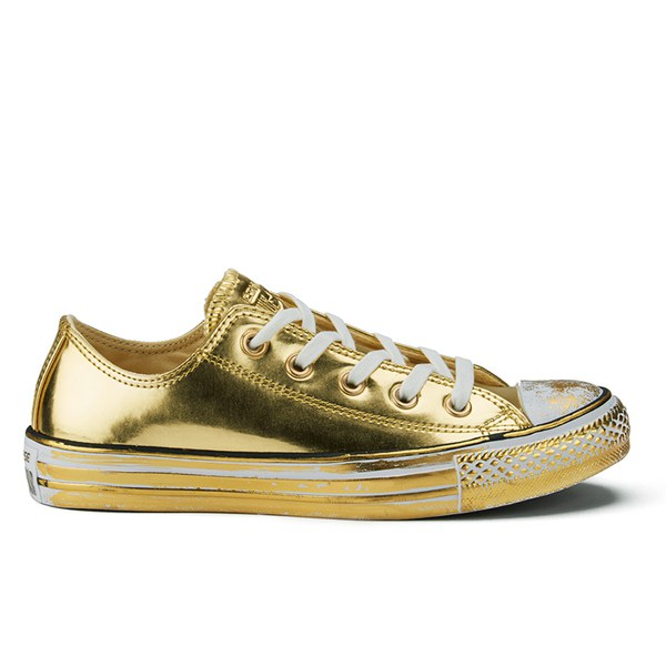 all gold converse