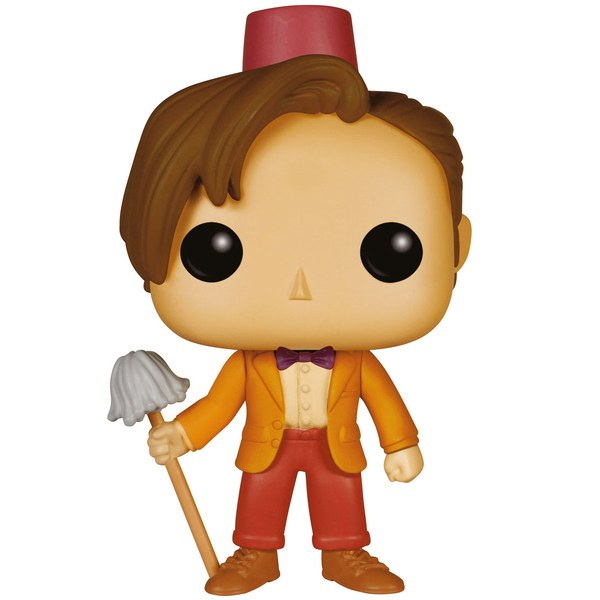 Doctor Who 11th Doctor With Fez & Mop Limited Edition Pop! Vinyl