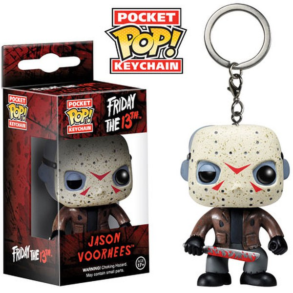 Friday The 13th Jason Voorhees Pocket Pop! Vinyl Key Chain