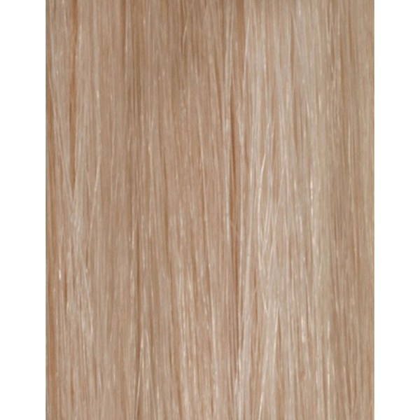 Échantillon d'extension de cheveux 100% Remy de Beauty Works - Blond Champagne613/18