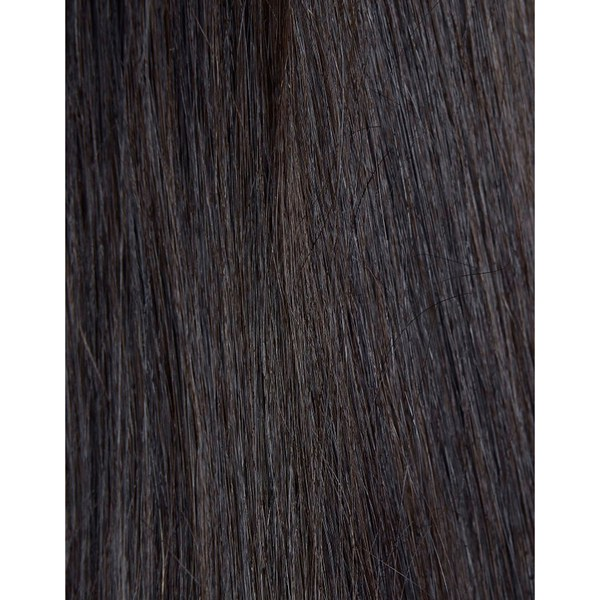 Beauty Works 100% Remy Color Swatch Hair Extension - Ebony 1B