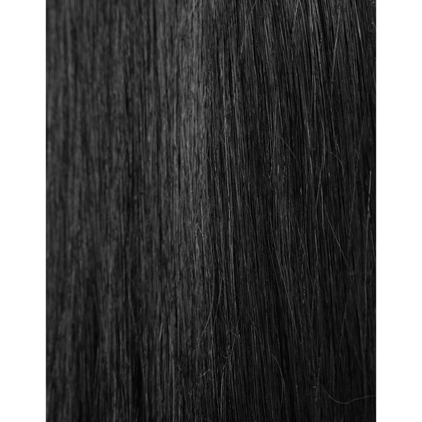 Beauty Works 100% Remy Colour Swatch Hair Extension - Jetset Black 1