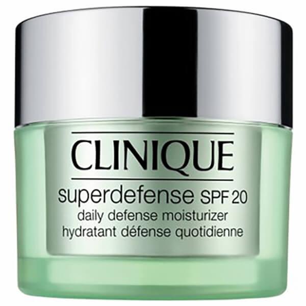 Hydratant défense quotidienne SPF20 Clinique Superdefense Peaux mixtes à grasses/grasses50ml