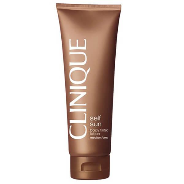 Clinique lotion teintée corporelle - claire à moyenne (125ml)