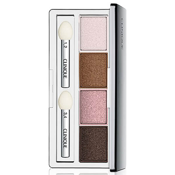 Clinique All About Shadow Pink Chocolate palette ombre à paupières 4 couleurs