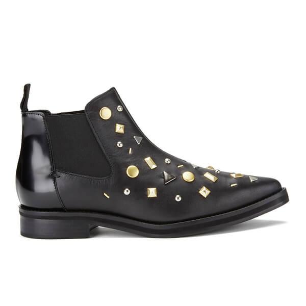 McQ Alexander McQueen Women's Redchurch Leather Chelsea Boots - Black