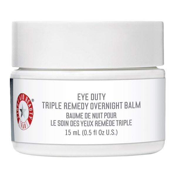 First Aid Beauty Eye Duty Triple Remedy baume de nuit contour des yeux