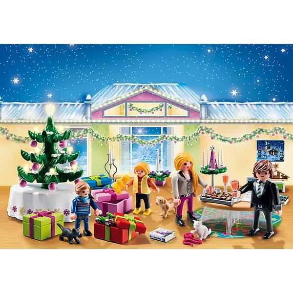 Playmobil Advent Calendar Christmas Room with Tree (5496): Image 1