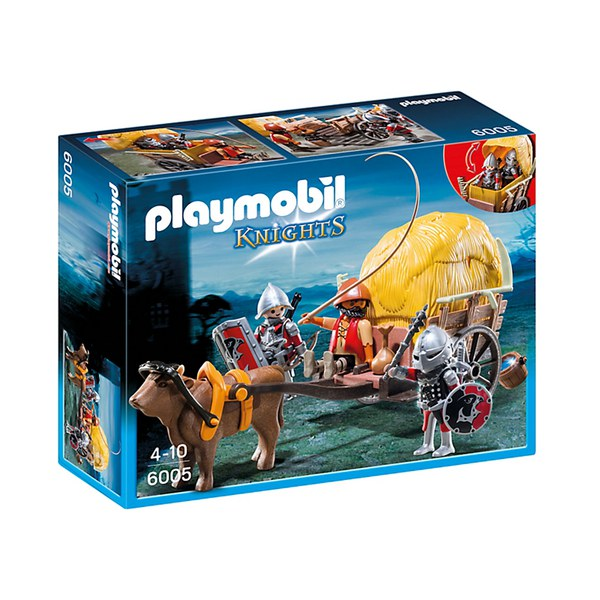 Playmobil Hawk Knight's with Camouflage Wagon (6005)