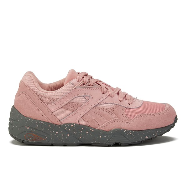 Puma Women s R698 Winterized Trainers - Coral Pink Womens ... f21fb16bf315