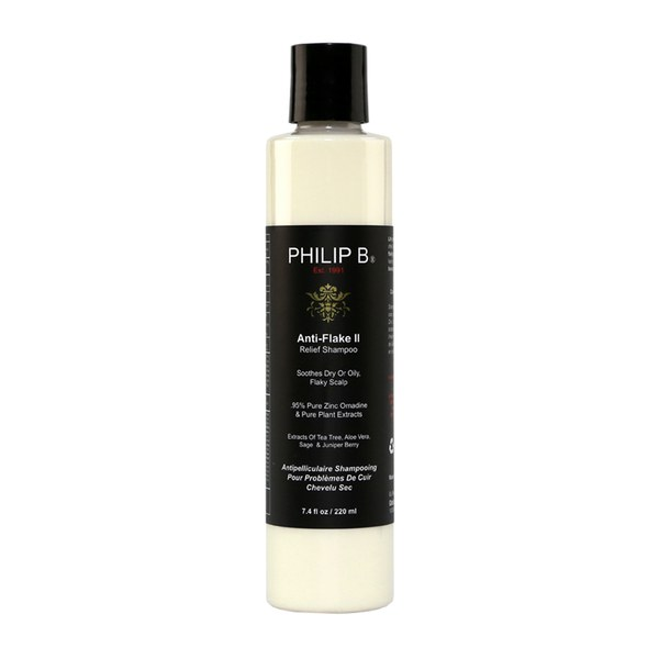 Shampoing antipellicullaire apaisant Anti-Flake II de Philip B (220ml)