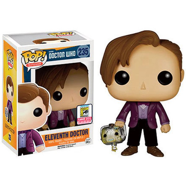 Doctor Who 11th Doctor With Cyberman Head SDCC Exclusive Pop! Vinyl Figure