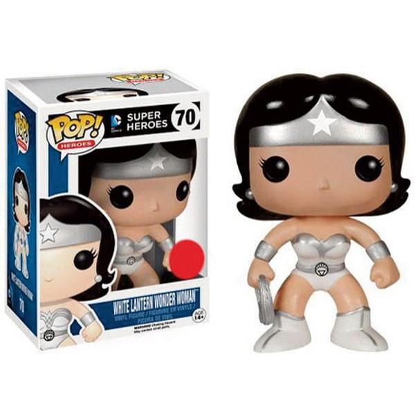 White Lantern Wonder Woman Pop! Vinyl Figure