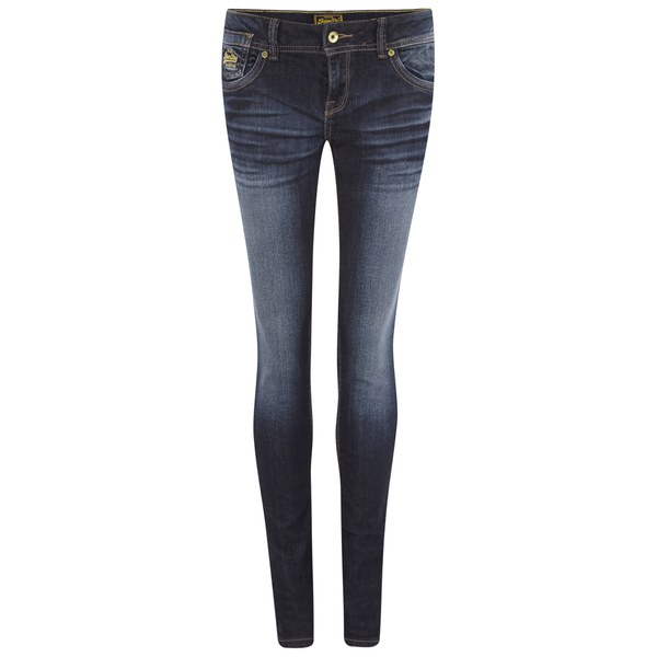 Superdry Women s Cara Skinny Jeans - Real Authentic Blue Clothing ... 8208b856c98b