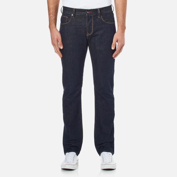 Tommy Hilfiger Men's Denton Straight Leg Denim Jean - Clean Blue