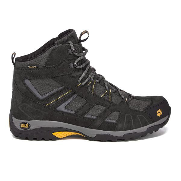 Jack Wolfskin Men's Vojo Hike Texapore Mid Walking Boots - Burly Yellow