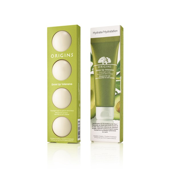 Origins Drink Up Intensive Overnight Mask 4 X 5ml Pods