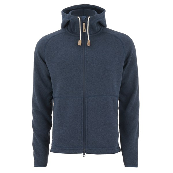 Fjallraven Men's Ovik Fleece Hoody - Navy