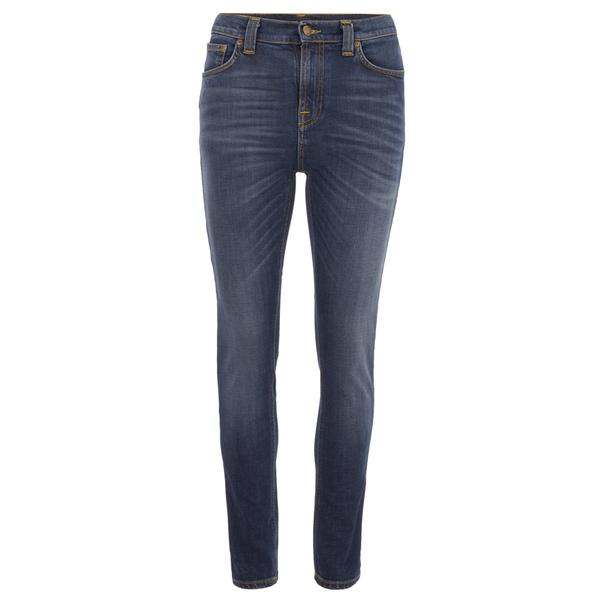 Nudie Jeans Women's Pipe Led Denim Jeans - Navy Night