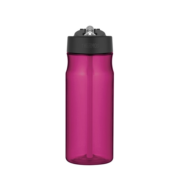 Thermos Intak Hydration Straw Bottle - Magenta (530ml)