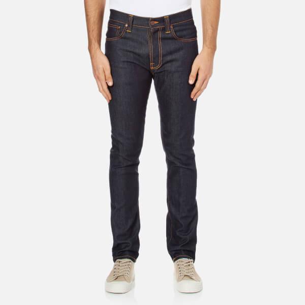 Nudie-Jeans男式Lean Dean修身牛仔- Dry 16 Dips