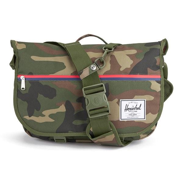 ccc5b833a3 Herschel Supply Co. Pop Quiz Messenger Bag - Woodland Camo ...