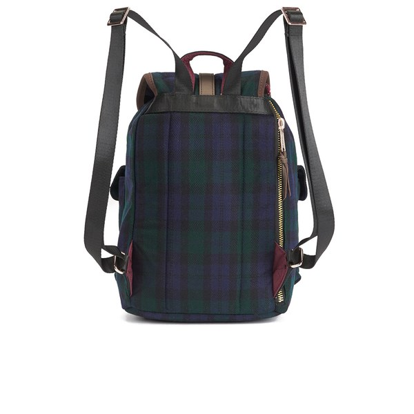 7d06df8b560 Herschel Supply Co. Select Series Dawson Watch Plaid Backpack - Black   Image 5